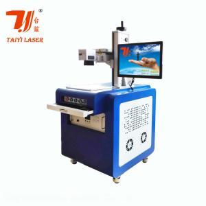 China Crystal Plastic UV Laser Marking Machine , Glass Laser Engraving Machine on sale