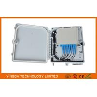 Wholesale 12 Cores Fiber Distribution Box , Optical Splitter Module Junction Box for FTTH IP65 from china suppliers