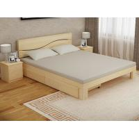 Buy cheap Bedroom Modern Home Furniture Sets Wood Grain With Bottom Drawers from wholesalers