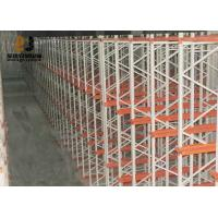 Wholesale Cold Rolled Steel Powder Coating Customzied Size Pallet Flow Rack from china suppliers