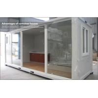 Wholesale 20ft Standard Expandable Glass Prefab Homes / Container House with Sliding Door from china suppliers