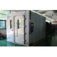 Buy cheap LED Touch Screen Walk-In Chamber , Water Cooled Climatic Test Chamber from wholesalers
