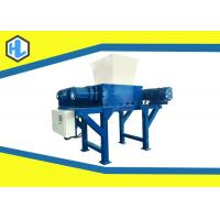 Quality Low Speed Waste Shredder Machine , Rubber / Fabric / Cardboard Shredding Machine for sale