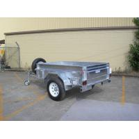 Wholesale Custom 7X4 Galvanised Off Road Trailer , Off Road ATV Trailer With Heavy Duty Axle from china suppliers