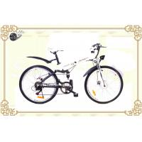 "Wholesale Fashion White 26"" Folding Mountain Electric Bicycle with Aluminum Alloy Frame from china suppliers"