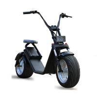 Wholesale 18*9.5 Inch 1200W Harley Fat Tires 2 Wheel Electric Scooter , Citycoco electric 2 wheel scooter from china suppliers