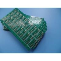 Quality 2oz Double Sided PCB 0.062 Inches Thickness Green Mask White Silkscreen Immersion Gold PCB for sale