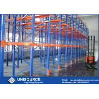 Quality Drive In / Thru Warehouse Storage Racking Anti Corrosion Heavy Duty Industrial Shelving for sale