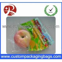 Wholesale Food Grade Fruit Packaging Bags With Handle Hole For Supermarket from china suppliers
