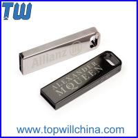 Wholesale Stainless Metal 4GB Flash Drive for Business Man and Company Gift from china suppliers