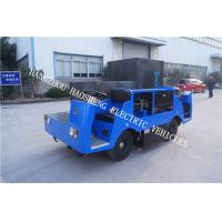 Wholesale Double Cab Electric Utility Vehicle , Electric Transport Truck 2 Tons With Bule from china suppliers