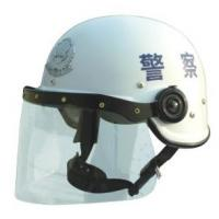 Quality Hongkong Style PC / AS Anti Riot Helmet for Riot Control Equipment for sale