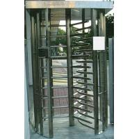 Wholesale 30 Persons / Min Full Height Turnstile with Sound Alarm Stainless Steel Tube for Airport from china suppliers
