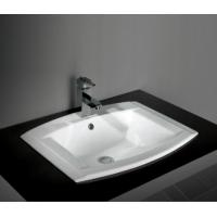 Wholesale best selling unique design eco-friend bathroom Ceramic under counter art Basin from china suppliers