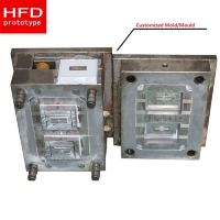 Wholesale 500000 Shots Steel Hardness 20HRC 60HRC Plastic Injection Mold from china suppliers