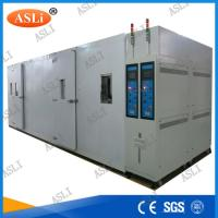 Wholesale Water Cooled Walk In Stability Chamber , Humidity Range 20% ~ 98%R.H. from china suppliers