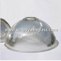 Wholesale Ribbed glass industrial pendant light shades from china suppliers