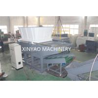 Nylon Wire Single Shaft Shredder Machine With CNC Processing Rotor / PLC Program Control