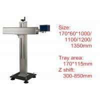 Quality 800mm Laser Marking Machine Z Axis Assembly Manual Linear Stages for sale