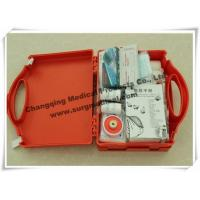 Wholesale Waterproof First Aid Kits Plastic Emergency Assistance HSE Complian With Carrying Handle from china suppliers