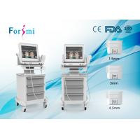 Wholesale Anti-Wrinkle beauty Machine ultrasound system hifu ultrasound face lift with CE approved from china suppliers