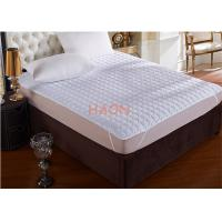 Wholesale Home Hotel Mattress Protector Soft Filling , Flat Mattress Protector Pad from china suppliers