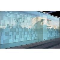 Commercial Tempered Decorative Glass Wall Panels Curved