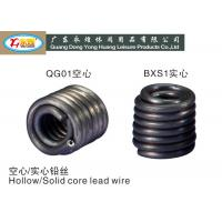 Wholesale 1LB Hollow / solid 4.8MM diameter lead wire / lead fuse pure pb wire from china suppliers