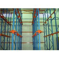 Wholesale Custom Q345 Steel Drive In Pallet Racking , Cold Heavy Duty Racks For Warehouse from china suppliers