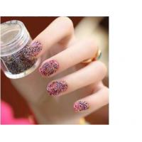 Wholesale Pretty Pearls 3D Caviar Nail Art Colorful Artificial Nail Tips For Salon from china suppliers