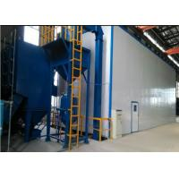 Wholesale Large Sandblasting Rooms , Shot Blast Room With Automatic Recovery System from china suppliers