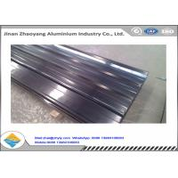 Quality 3003 Aluminum Magnesium Corrugated Aluminum Ridge Tile Metal Roofing Sheet for sale