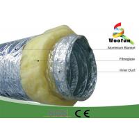 Wholesale Fireproof 20 Rigid Hvac Duct Insulation Wrap Aluminum Foil Stretchable Easy Installation from china suppliers