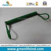 Wholesale Great Dark Green Plastic Retractable Lanyard Leash W/Loop Ends from china suppliers