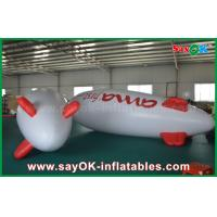 Wholesale 5m Floating Advertising Inflatable Balloon Helium Airplane Zeppelin For Promotion from china suppliers