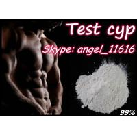 Quality Test Cyp Testosterone Anabolic Steroid Testosterone Cypionate For  BodyBuilding for sale