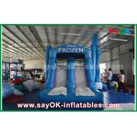 Buy cheap Waterproof 0.55mm PVC Inflatable Bouncer Slide Castle Trampoline from wholesalers