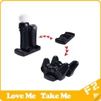 Quality New design for ps3 controller move 2 in 1 charger for sale