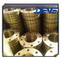Wholesale Cast Steel flanges BS4504 SLIP ON  PN10 PN16 Golden Yellow Paint from china suppliers