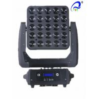 Wholesale CREE 4in1 LED Blinder Light 25PCS 10W Matrix LED Lighting Moving Head Stage Lights from china suppliers