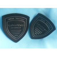 Wholesale 3D Embossed Logo Velcro Pvc Patches , Custom Military Name Patches Various Shape from china suppliers