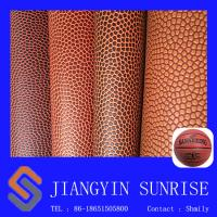 Wholesale Basketball Soccer Ball PVC Artificial Leather Fabric Wear Resistant from china suppliers