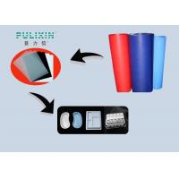 Wholesale Custom Blue Red Polyethylene Sheet Roll , High Impact Polystyrene Sheets from china suppliers