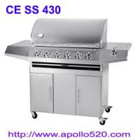 Wholesale 6Burner BBQ On Cart from china suppliers
