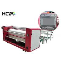 Quality Professional Roller Heat Printing Machine , Oil Heating Textile Sublimation Printing Machine for sale