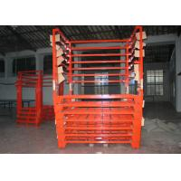 Wholesale Powder Coated Portable Stacking Racks For Storage Seasonal Goods from china suppliers