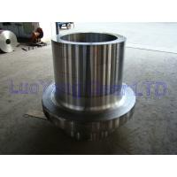 Wholesale Hydraulic Press Heavy Steel Shaft Forgings Gear Ring / Wind Power Flange from china suppliers