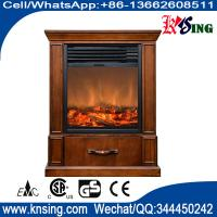 """Wholesale 13"""" insert electric fireplace heater log LED flame effect GM2000-13 remote control built-in flat front electric stove from china suppliers"""