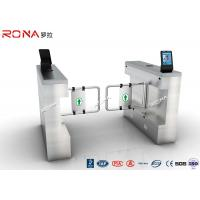 Wholesale DC 24 V Brush Motor Facial Recognition Turnstile Bi Directional 304 Stainless Steel Housing from china suppliers