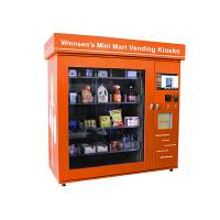 Wholesale Shopping Mall Smart Mini Mart Universal Vending Kiosk with 19 Inch Touch Screen from china suppliers